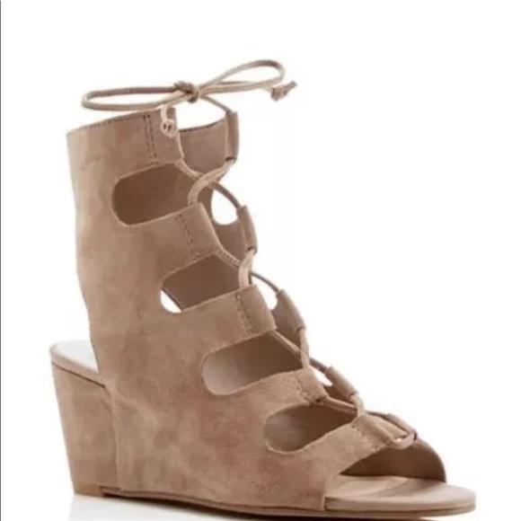 e1b81feea9 Dolce Vita Shoes - Dolce Vita Louise Almond Beige Suede Sandal